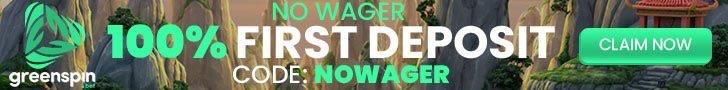 greenspin no wager